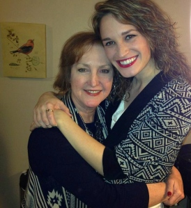 Mom & I on my 23rd!