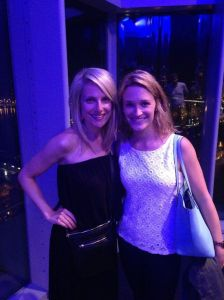 So fun to get to catch up with Christie while her and Heath were in town! Post-drinks at the W!