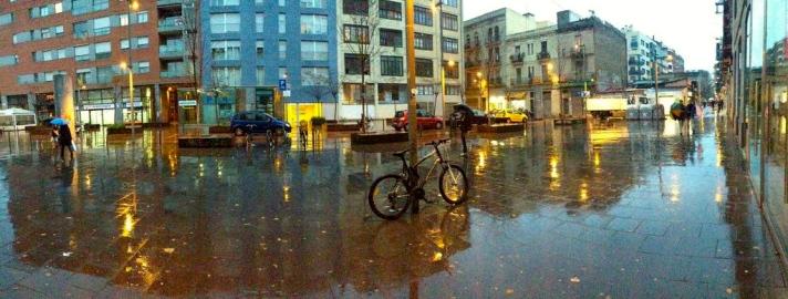 Rainy Poblenou