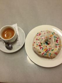 Espresso + Cronut @ Santagloria