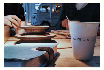 Tuesday mornings w/ the gals at Skye Coffee Co.!