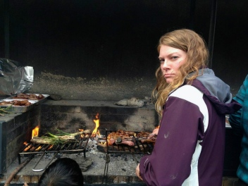 Whitnye grilling